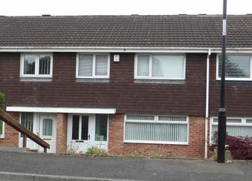Thumbnail 3 bed terraced house to rent in Skirlaw Close, Washington