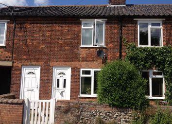 Thumbnail 2 bedroom terraced house to rent in Hayes Lane, Fakenham
