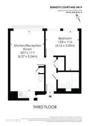 Thumbnail 1 bed flat to rent in Watermill Way, London
