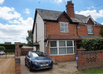 Thumbnail 3 bed semi-detached house to rent in Eversley Road, Yateley