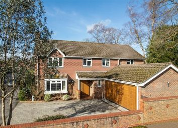 Thumbnail 5 bed detached house for sale in Shire Avenue, Fleet