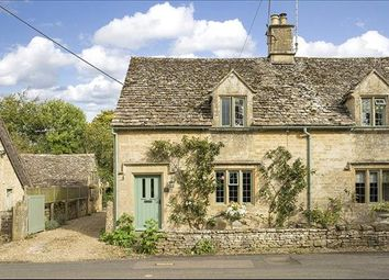 Thumbnail 2 bed semi-detached house for sale in Taynton, Burford, Oxfordshire
