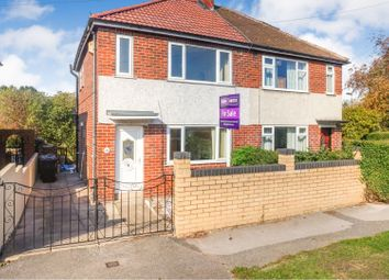 Thumbnail 3 bed semi-detached house for sale in Parkwood Road, Leeds