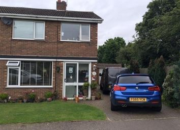 Thumbnail 3 bed semi-detached house for sale in Mill Hill Close, Whetstone, Leicester