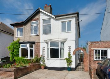 Thumbnail 3 bed semi-detached house for sale in Clare Road, Whitstable, Kent