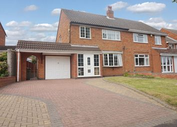 Thumbnail 3 bed semi-detached house for sale in Stephenson Close, Tamworth