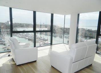 Thumbnail 2 bed flat to rent in The Moresby Tower, Admirals Quay, Southampton