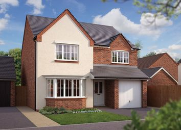 "Thumbnail 4 bed detached house for sale in ""The Durham"" at Haughton Road, Shifnal"