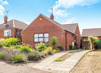 Thumbnail 3 bedroom detached bungalow for sale in Caxton Close, Beeston Regis, Sheringham