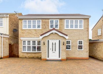 Thumbnail 4 bed detached house for sale in Felixstowe Close, Hartlepool
