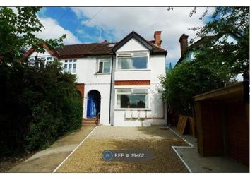 Thumbnail 1 bed flat to rent in Valley Road, London