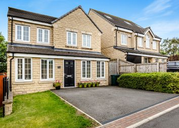 Thumbnail 4 bedroom detached house for sale in Plantation Drive, Heaton, Bradford