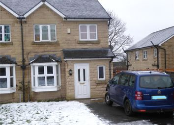 Thumbnail 3 bed semi-detached house to rent in Keighley Close, Illingworth, Halifax