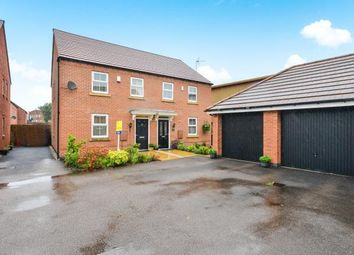 Thumbnail 3 bed semi-detached house for sale in Sunstone Grove, Sutton-In-Ashfield, Nottinghamshire