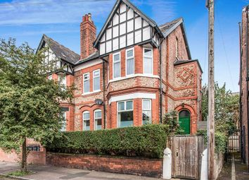 Thumbnail 5 bed semi-detached house for sale in Grosvenor Road, Whalley Range, Manchester