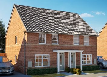 Thumbnail 2 bed semi-detached house for sale in Athelney Avenue, Westbury, Wiltshire