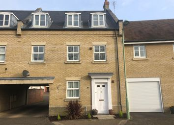 Thumbnail 4 bed terraced house to rent in Fen Way, Bury St. Edmunds