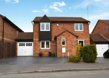 Thumbnail 3 bed detached house for sale in The Meer, Fleckney, Leicester