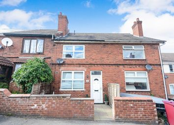 Thumbnail 3 bed terraced house to rent in Knighton Street, North Wingfield, Chesterfield