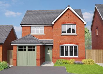 Thumbnail 4 bed detached house for sale in Erddig Place, Croesnewydd Road, Wrexham