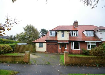 Thumbnail 3 bed semi-detached house for sale in North Cliff Avenue, Scarborough