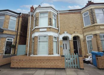 Thumbnail 3 bed semi-detached house for sale in Summergangs Road, Hull