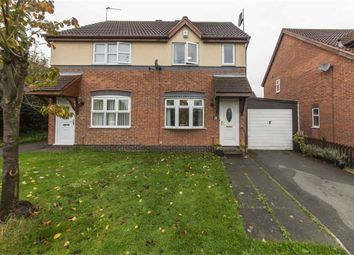 Thumbnail 2 bed semi-detached house for sale in Manor Close, Worksop, Nottinghamshire