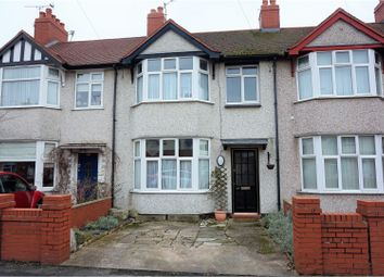 Thumbnail 3 bed terraced house for sale in Caradoc Road, Prestatyn