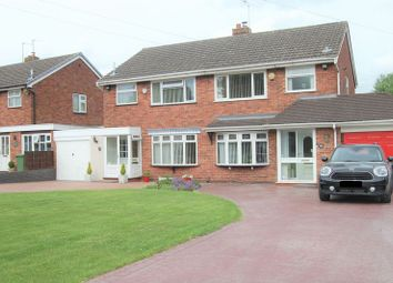 Thumbnail 3 bedroom semi-detached house for sale in Wood End Road, Wednesfield, Wolverhampton