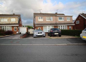 Thumbnail 3 bed semi-detached house for sale in Cae Gabriel, Penycae, Powys