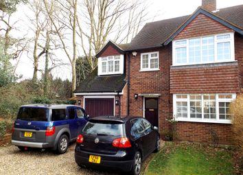 Thumbnail 4 bedroom semi-detached house to rent in Edge Close, Weybridge