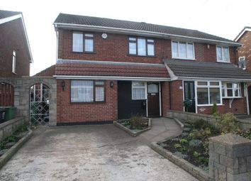 Thumbnail 4 bedroom semi-detached house for sale in Netherend Lane, Halesowen