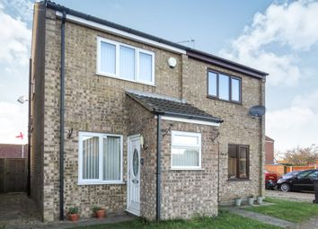 Thumbnail 2 bedroom semi-detached house for sale in Leach Close, Bradwell, Great Yarmouth