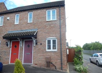 Thumbnail 2 bed semi-detached house for sale in Meldrum Drive, Gainsborough