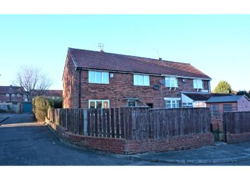 Thumbnail 3 bed semi-detached house for sale in Kinross Drive, Newcastle Upon Tyne