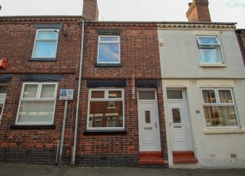 Thumbnail 2 bedroom terraced house to rent in Holly Place, Heron Cross, Stoke-On-Trent