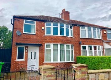 Thumbnail 3 bed semi-detached house to rent in School Grove, Manchester