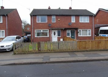 Thumbnail 2 bed semi-detached house for sale in Gudmunsen Avenue, Bishop Auckland