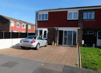 Thumbnail 3 bed semi-detached house to rent in Bamburgh Drive, Bedford
