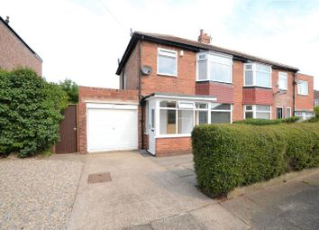Thumbnail 3 bed semi-detached house for sale in Warwick Hall Walk, High Heaton, Newcastle Upon Tyne