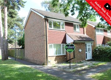Thumbnail 3 bed detached house for sale in Ripon Close, Camberley, Surrey