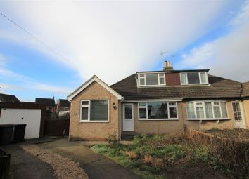 Thumbnail 2 bed semi-detached bungalow for sale in Chatsworth Grove, Boroughbridge, York
