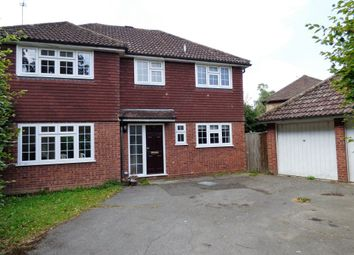 Thumbnail 4 bedroom property to rent in Fir Cottage Road, Finchampstead, Wokingham