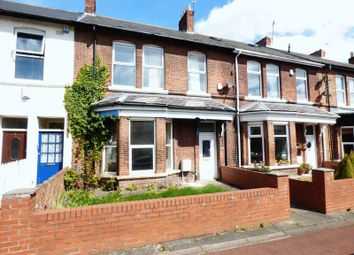 Thumbnail 4 bedroom terraced house for sale in Rothbury Terrace, Heaton, Newcastle Upon Tyne