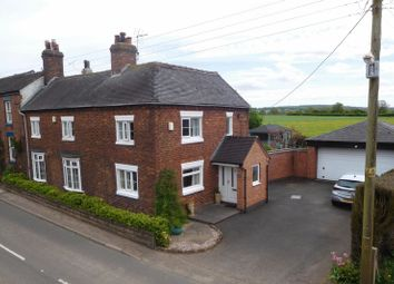 Thumbnail 3 bed property for sale in Knighton, Market Drayton