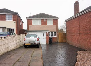 Thumbnail 3 bed detached house for sale in Whitehall Drive, Dudley