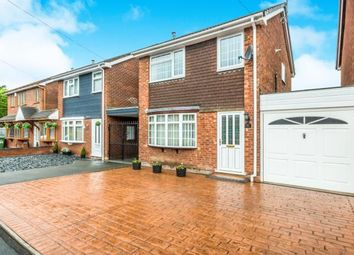 Thumbnail 3 bed link-detached house for sale in Greenhill Close, Willenhall, West Midlands