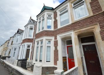 Thumbnail 4 bed terraced house to rent in Angus Street, Roath, Cardiff