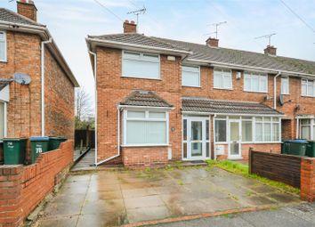 Thumbnail 3 bed end terrace house for sale in Alder Road, Aldermans Green, Coventry
