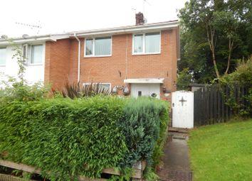 Thumbnail 3 bedroom end terrace house for sale in Tyle-Teg, Clydach, Swansea